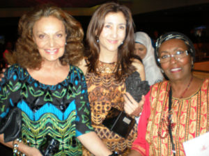 Diane von Furstenberg at the United Nations