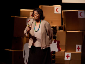 Edna Adan at TEDx event Geneva