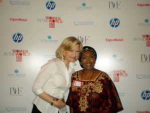 Diane Sawyer at CGI