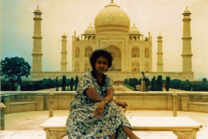 Edna Adan at Taj Mahal
