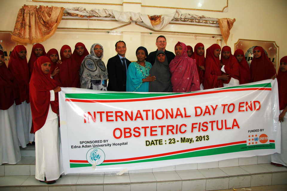 Edna as Keynote Speaker on End Fistula Day