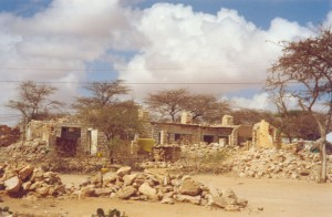 Hargeisa Nursing School destroyed by war
