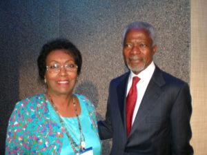 Former U.N. Secretary General Kofi Annan
