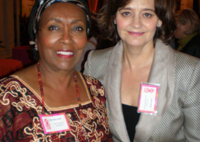 Former UK First Lady Cherie Blair