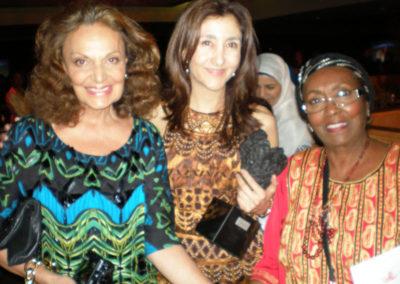 Diane von Furstenberg at the United Nations