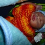 Oxygen for newborn