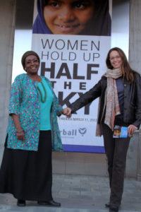 Diane Lane at Half The Sky Exhibit in Los Angeles