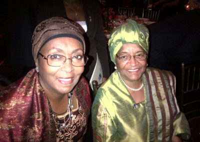 Nobel Prize winner Liberia Pres. Ellen Johnson Sirleaf