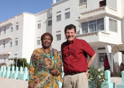 Nicholas Kristof with Edna Adan
