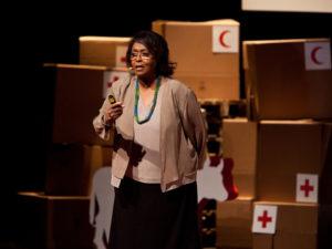 Edna Adan at TEDx event Geneva
