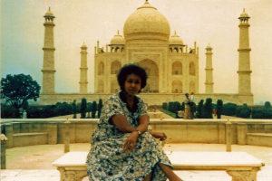 Edna Adan at Taj Mahal