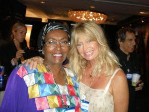 Goldie Hawn at CGI