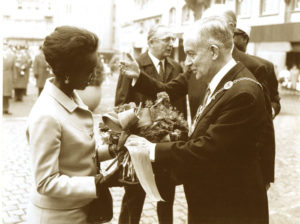 Somalia First Lady with Munich Mayor
