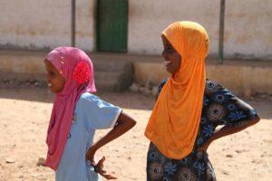 Girls in Somaliland
