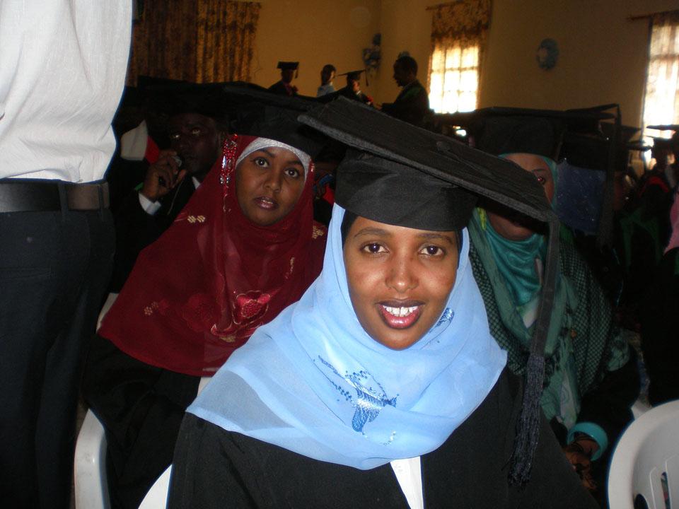 Doctors Shukri and Nama graduate