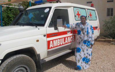 New Ambulance Donated by Australians