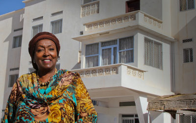 Edna Adan Hospital is first to receive hybrid wind and solar system through initiative.