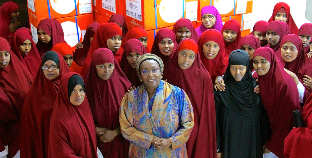 International Day of the Midwife: Edna Adan (video)
