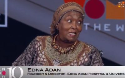 Edna at Women in the World Summit (Video)